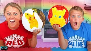 BEST PAINTING WINS! NEW Funny Art Challenge!