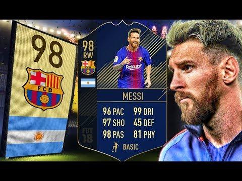 FIFA 18 - Niepoprawny wichrzyciel! - 98 TOTY Leo Messi!