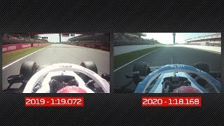 Williams 2019 vs. 2020: George Russell's Laps Compared