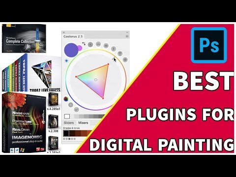 Best Plugins For Digital Painting   Smudge Painting   Photoshop Tutorial   Giants tutorials