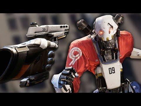 YOU CAN RIP THEIR FACES OFF!! - Robo Recall (Oculus Rift Virtual Reality)