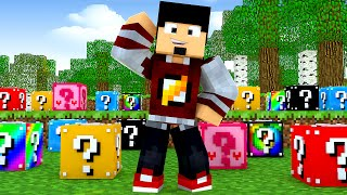 Minecraft: ESCADONA - VARIAS LUCKY BLOCKS ‹ AMENIC ›
