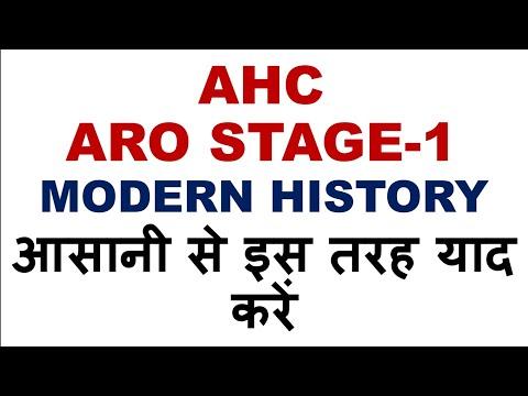 AHC ARO HISTORY इस तरह याद करें, HISTORY SPECIAL,