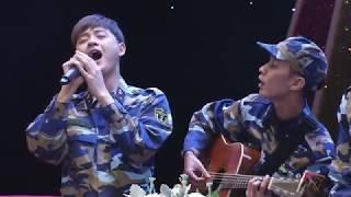 (Sao nhập ngũ)-  Thanh Duy bật khóc khi hát ca khúc Đồng chí