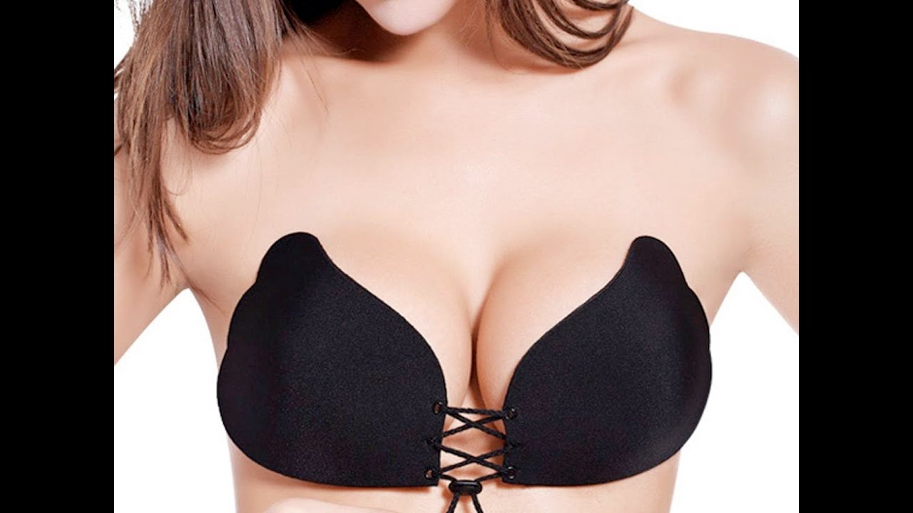 9fe456515b703 MAGIC Stick-on Push Up Bra - YouTube