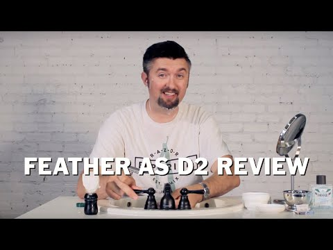 Razor Emporium Wet Shave Review: Feather AS-D2 Safety Razor