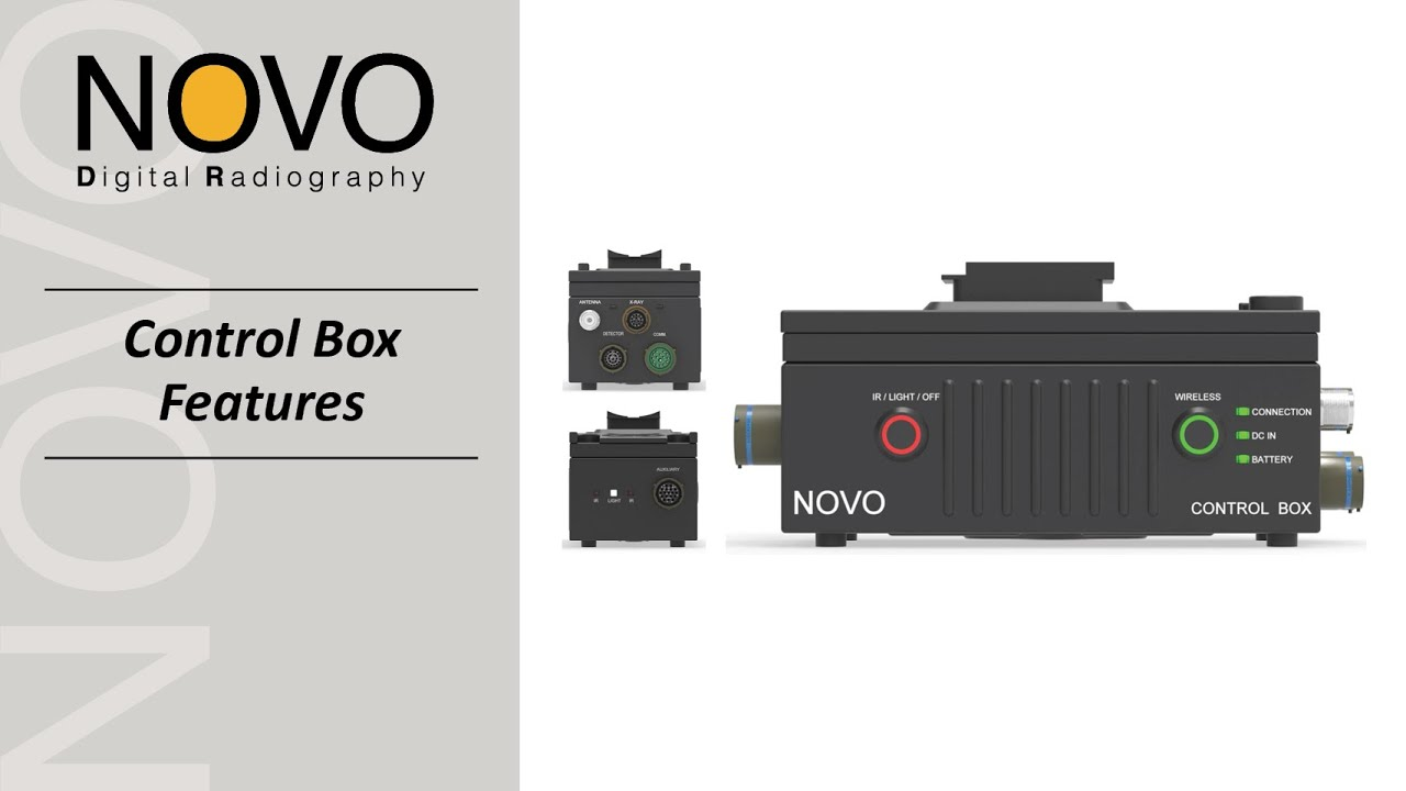 NOVO DR Control Box Features
