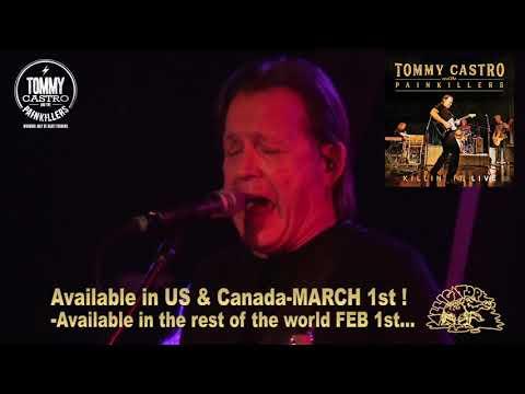 Tommy Castro 'Killin' It LIVE' Promo - Drops March 1st Mp3
