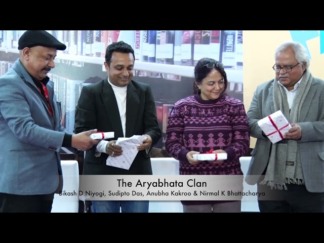 Book Launch - Aryabhata Clan: New Delhi Book Fair 2018 (Short Clip)