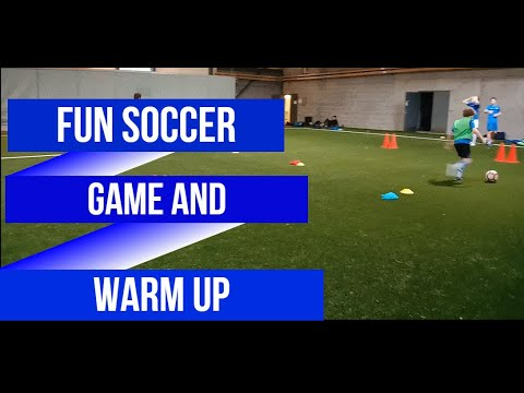 Fun Soccer Game And Warm Up