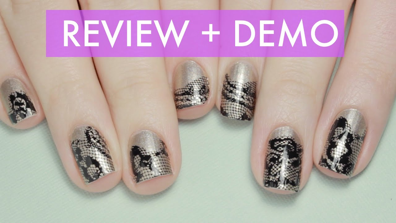 Nail Applique Review + Demo | It\'s A Nail by Incoco - YouTube