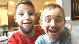 FATHER SON FACE SWAP 3!