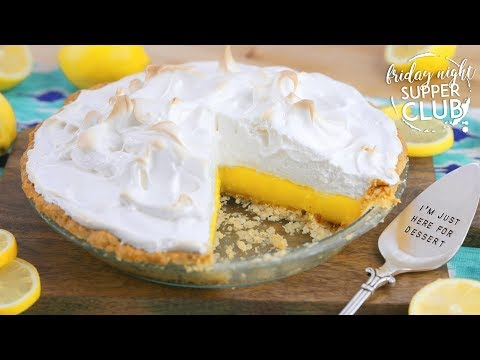 Homemade Lemon Meringue Pie | Friday Night Supper Club