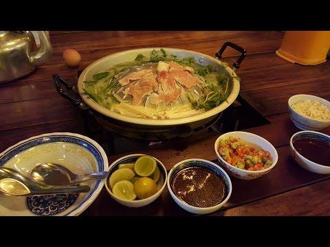 Am făcut grătar în Laos!