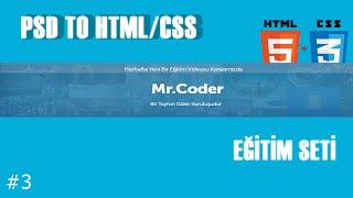 PSD TO HTML/CSS Eğitim Seti:Font-Face Kullanımı #3