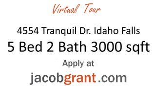 4554 Tranquil Dr., House for Rent, Idaho Falls by Jacob Grant Property Management Thumbnail