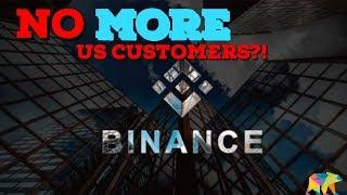 Binance To Cut US Investors & Traders ( ARCANE BEAR)