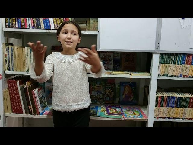 Изображение предпросмотра прочтения – ВероникаМедведева читает произведение «У кого мы учимся доброте?» М.Р.Садовского