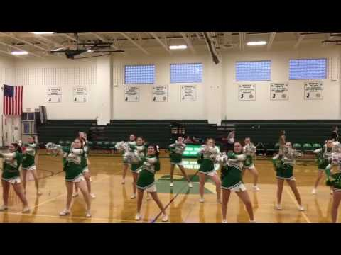 Pascack Valley High School Indians Cheerleaders Half~Time Routine 2017