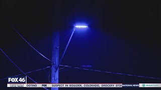 Duke Energy Working To Identify Thousands Of Defective 'purple' LED Street Lights