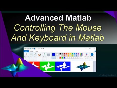 Controlling The Mouse And Keyboard From Matlab [Advanced
