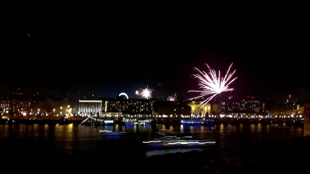 Budapest firework - new year 2017 / 2018  FULL VIDEO