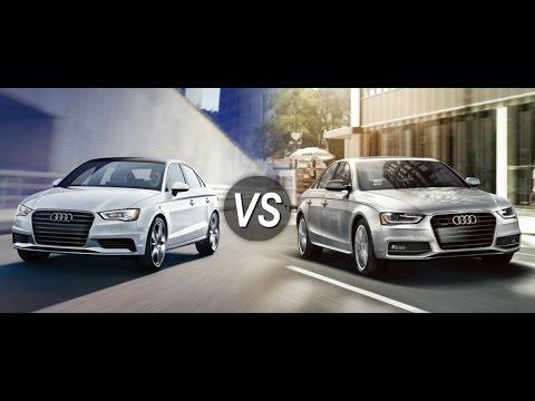 Audi A Vs Audi A YouTube - Audi a3 audi a4