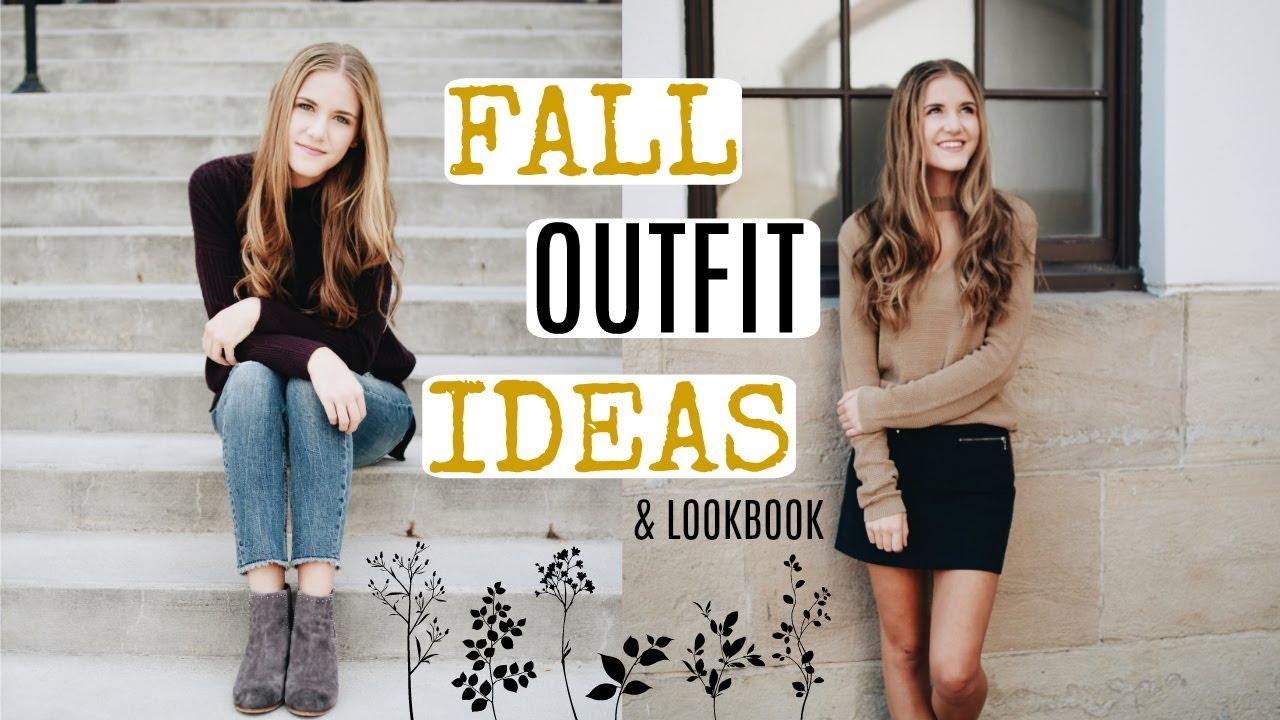 FALL OUTFIT IDEAS & LOOKBOOK!