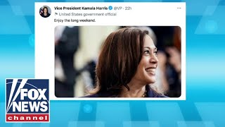 Kamala Harris does 'damage control' after fallout from Memorial Day tweet
