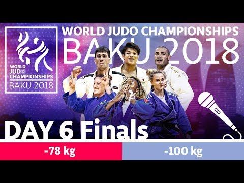 World Judo Championships 2018: Day 6 - Final Block