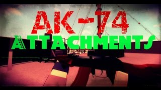AK-74 Best Loadout | Best attachments #1 ROBLOX Phantom Forces