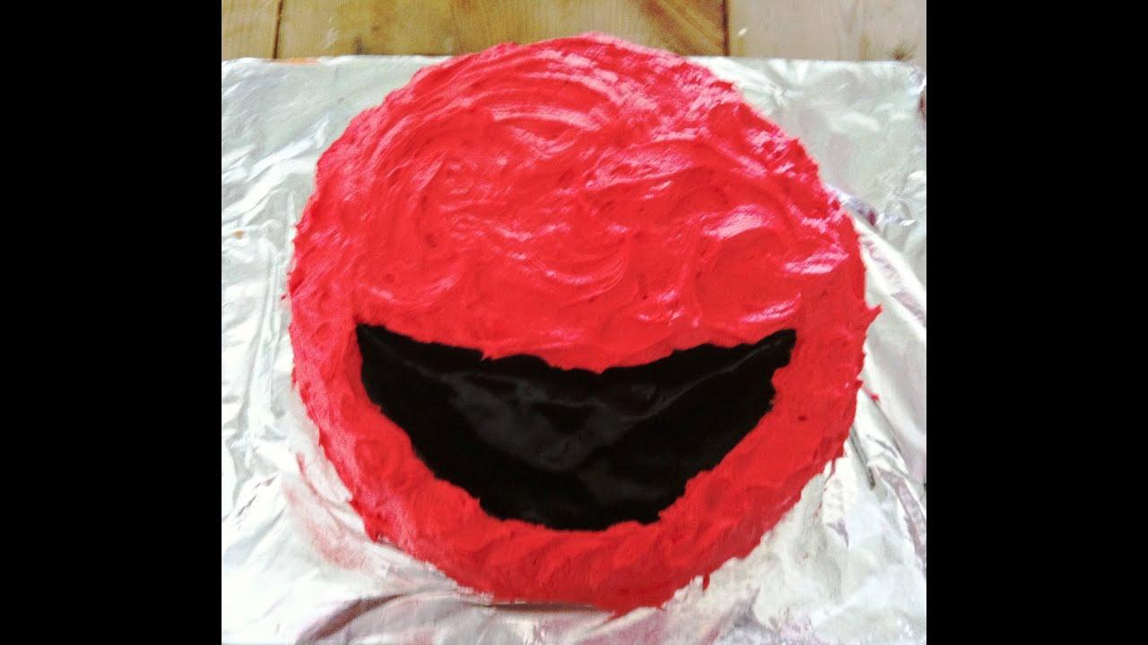 How to Make an Elmo Birthday Cake YouTube