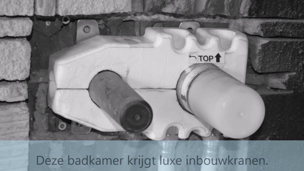 2016 Luxe badkamer met inbouwkranen en beton cire - YouTube