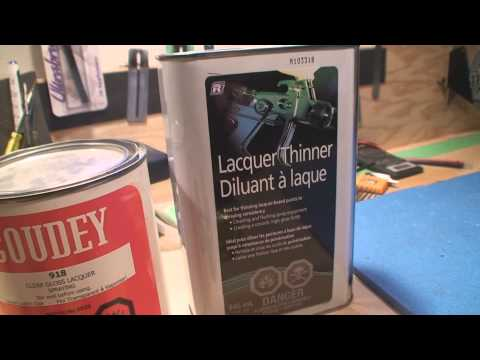 Nitrocellulose Lacquer and Guitars - YouTube