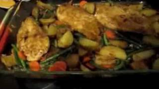 Easy One Dish Chicken And Potato Meal