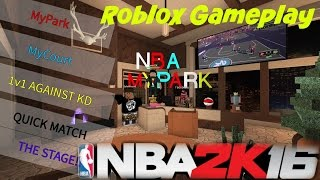 Exposed an L3 + Roblox NBA 2K16 Gameplay!!!