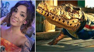 Guapo Crocodile vs Shark Fight! 🐊🆚️🦈