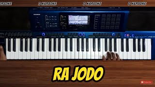 RA JODO (Nella Kharisma) Nada cowok Versi koplo Karaoke tanpa vokal