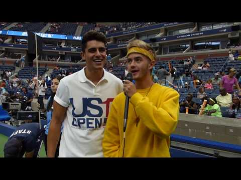 Jack & Jack Interview with SecretFangirls.com at Arthur Ashe Kids' Day 2017 AAKD