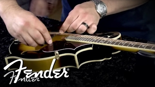 How to Place & Install a Mandolin Bridge | Fender