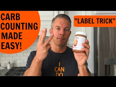 How to Count Carbs for Faster Fat Loss (label trick)