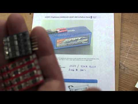 DIY LiFePo4 Motorcycle Battery With BMS. Lithium Iron Phosphate.