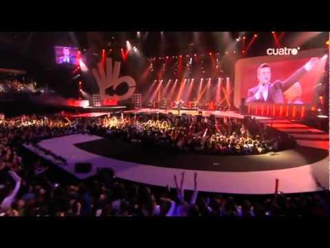 Robbie Williams - You Know Me - Live @ Premios 40 Principales 2009 - Madrid
