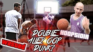 2VS4 ! ON PLACE LE DOUBLE ALLEY OOP DUNK ? (feat. HOOPSIDIA) Video