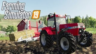 Baling and Fertilizing - Farming Simulator 19 - Part 2