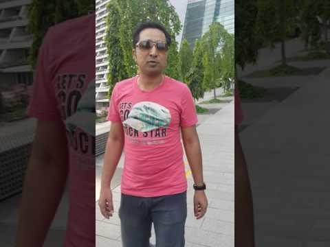 Salman shakeel travel guide in urdu hindi marina bay Singapore tour