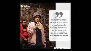 Dengan Bangganya Joshua Suherman menghina Agama Islam. Ini Videonya