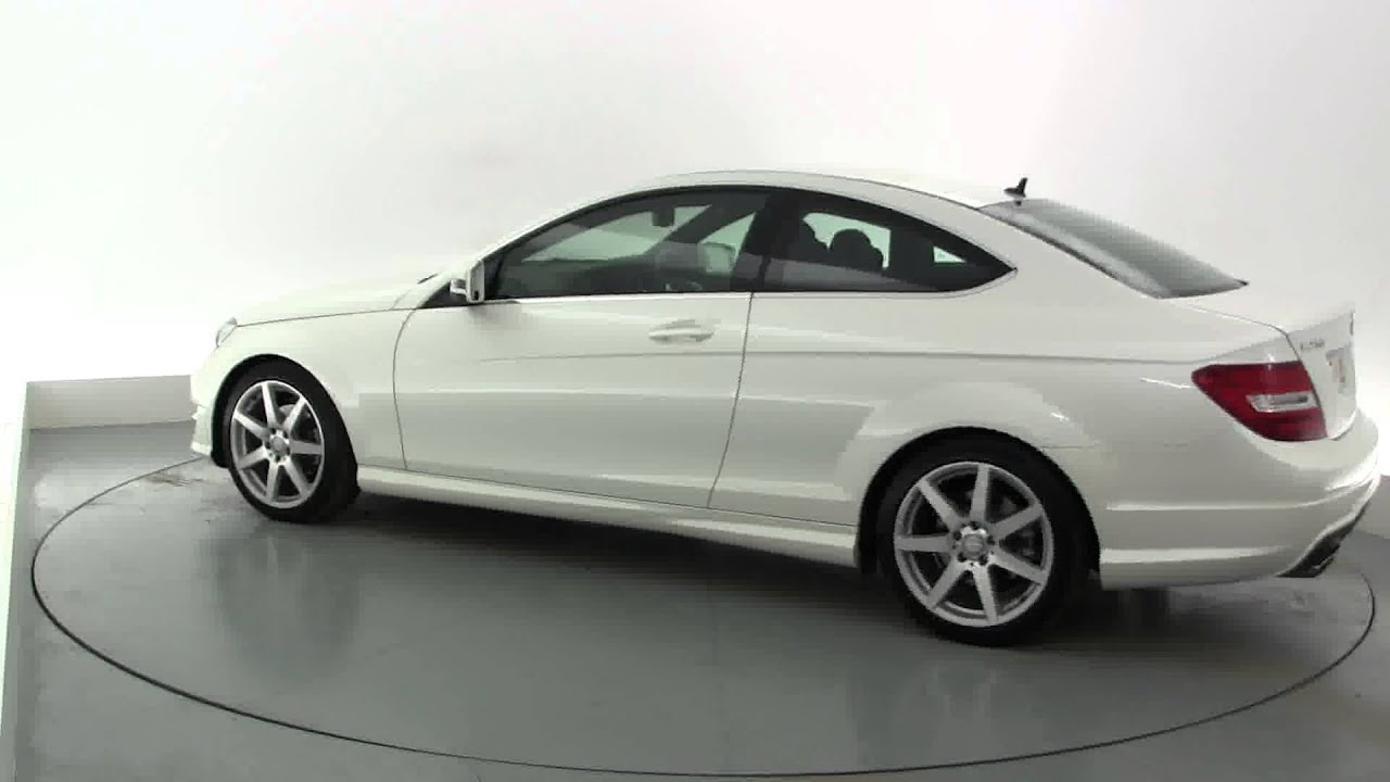 2012 MERCEDES C CLASS C250 CDI BLUEEFFICIENCY AMG SPORT