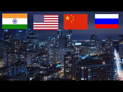 TOP10 Highest Electricity producing countries in the WORLD 2