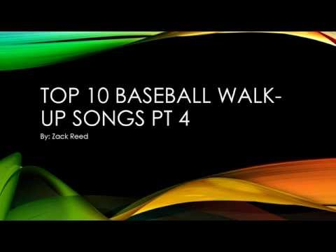 Top 10 baseball walk up songs pt 4